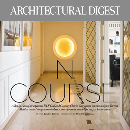 architectural digest, features,aralias apartment