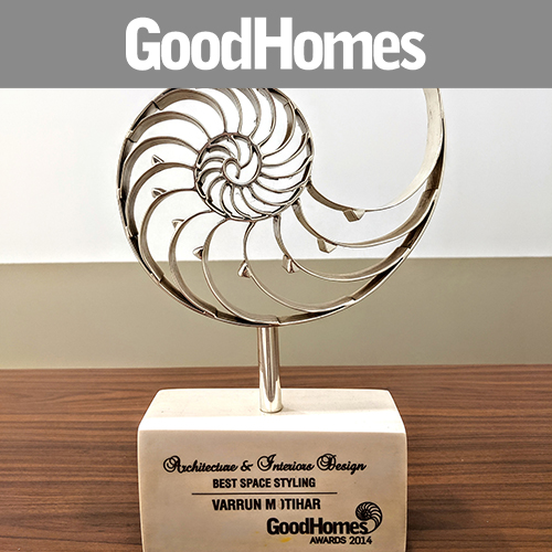 good homes features, award